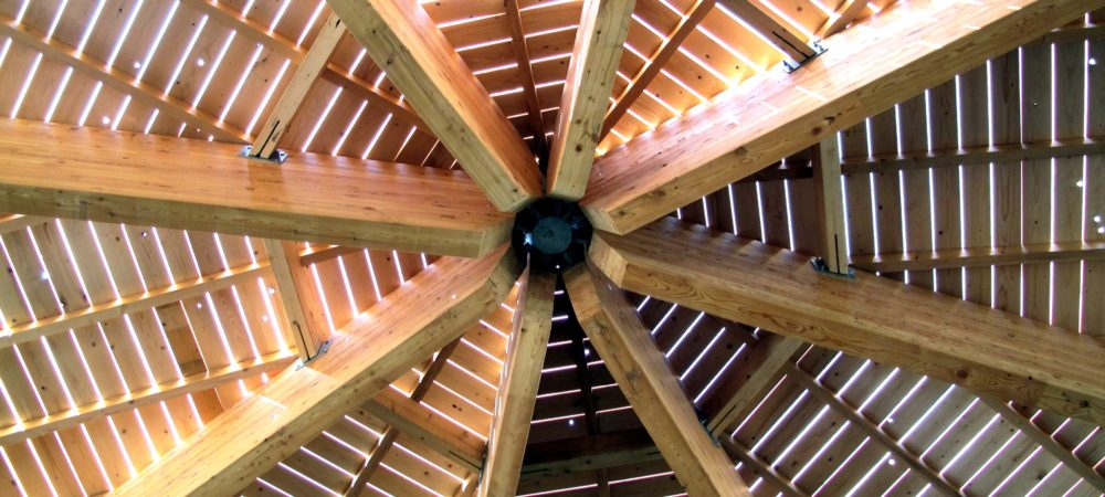 Construction charpente et structure en bois ark dia olry for Construction en bois details