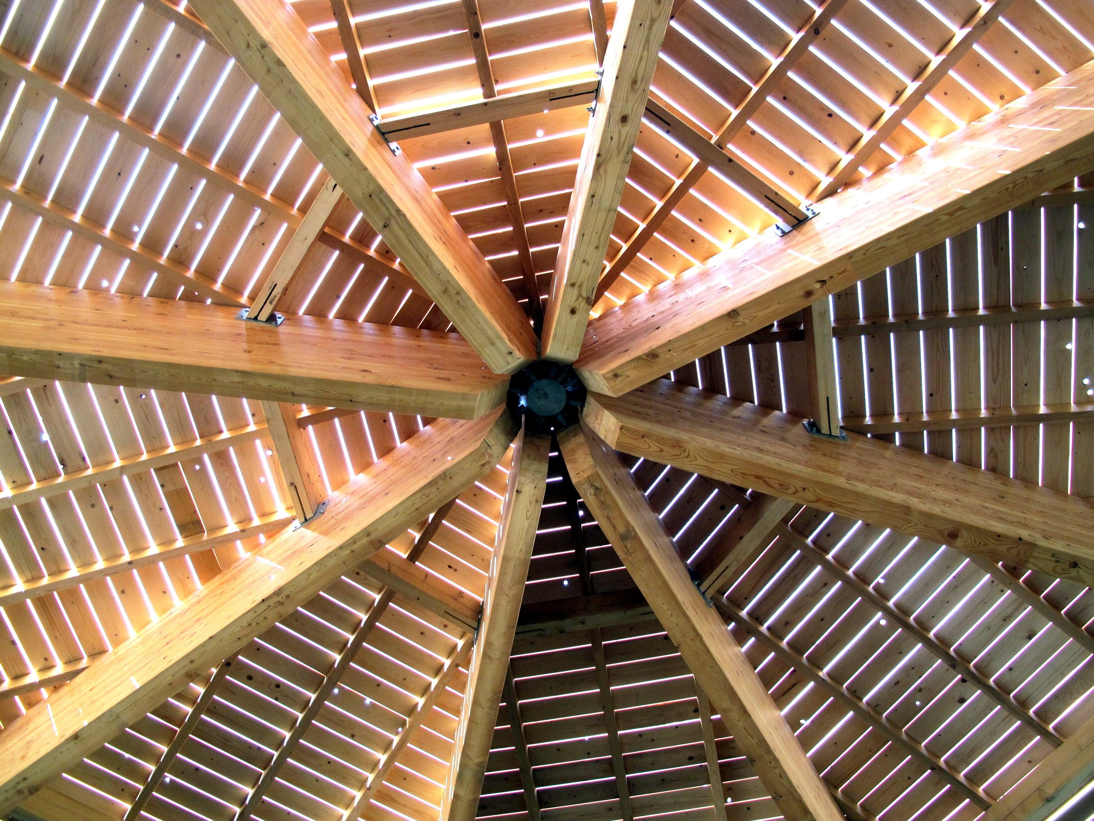 Construction charpente et structure en bois ark dia olry for Construction en bois wiki