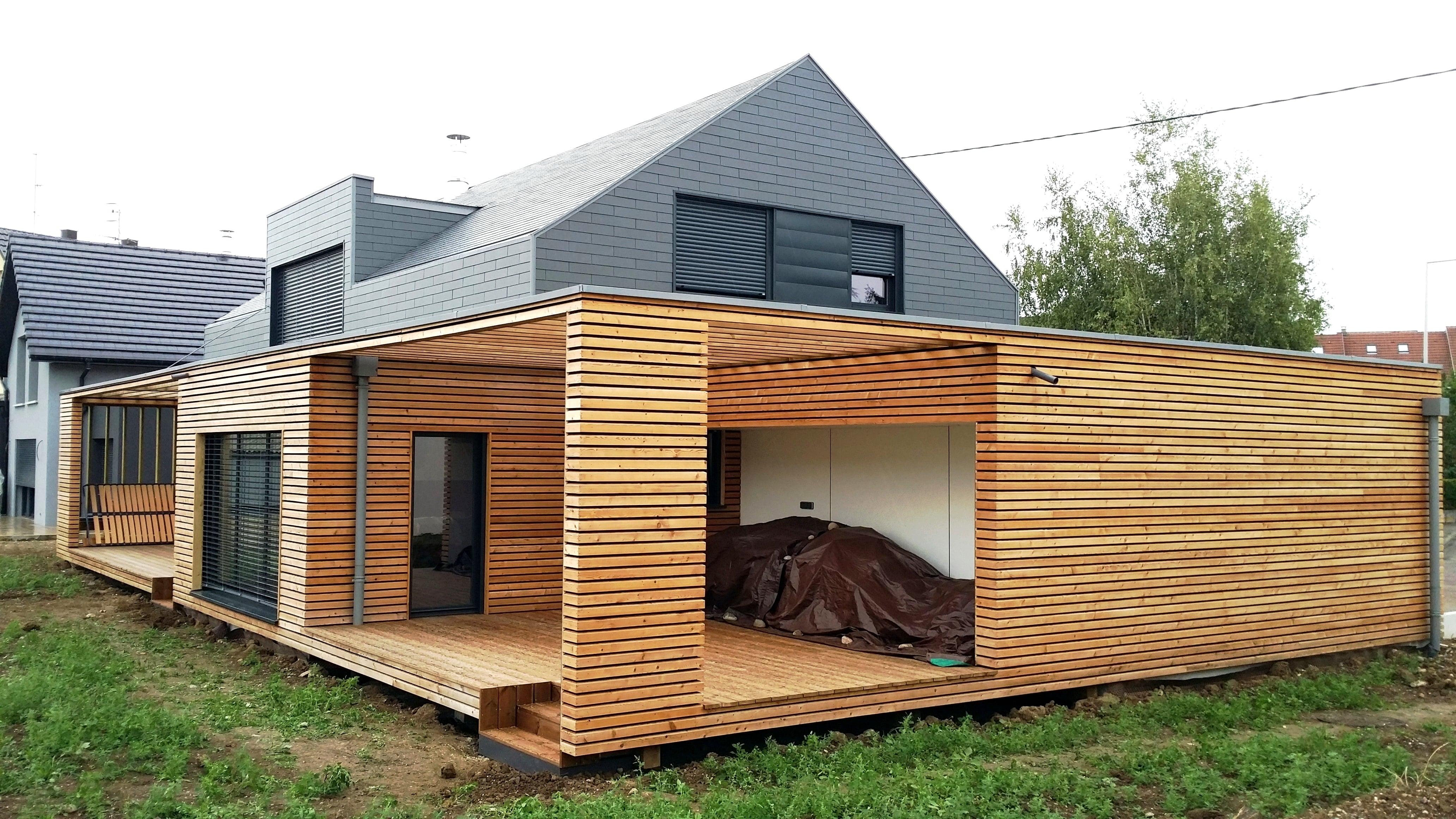 Constructeur de maison ossature bois et dextension à Colmar  Arkédia Olry
