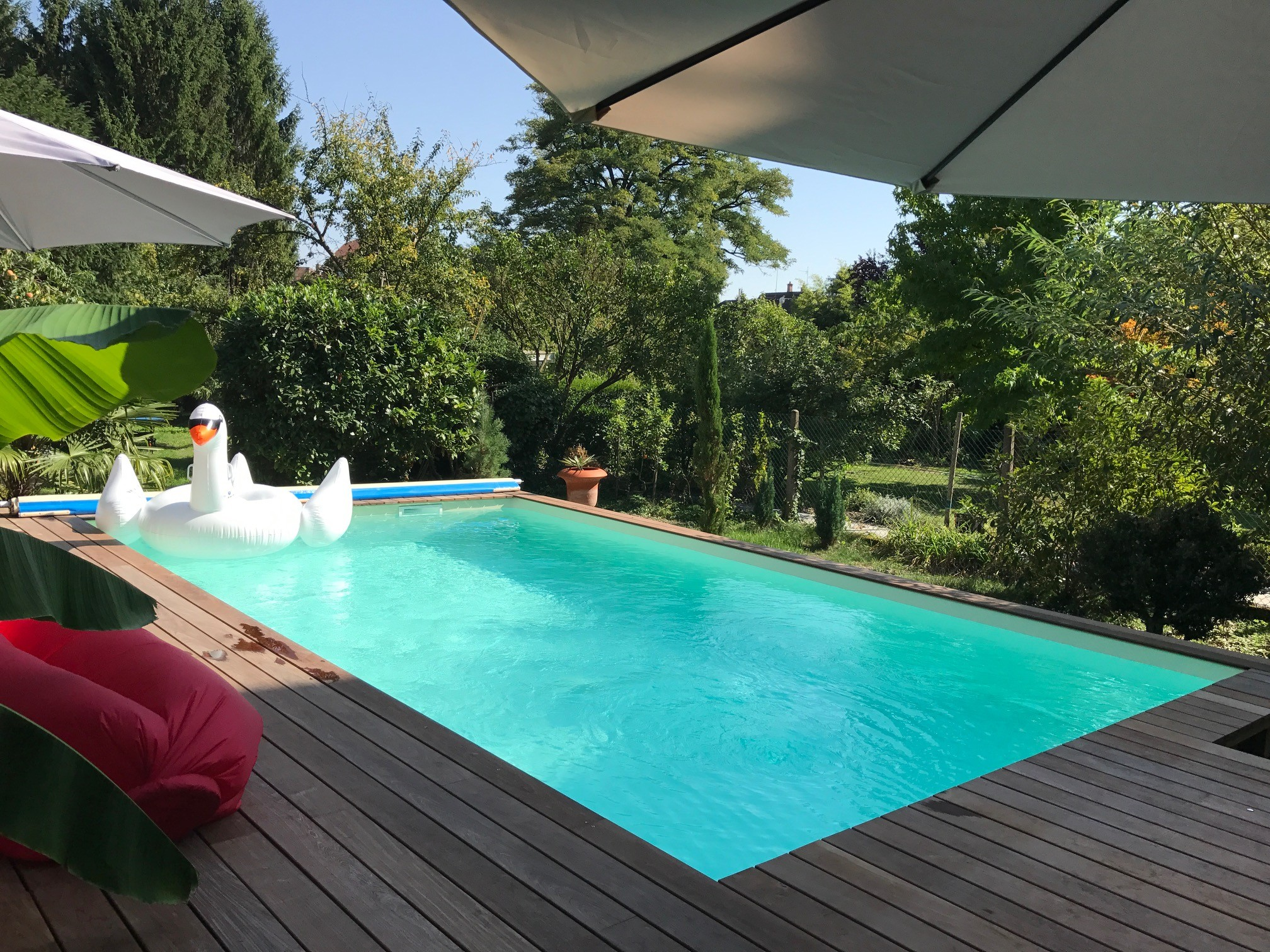 Creation D Une Piscine En Bois De 28m2 A Strasbourg Amenagements
