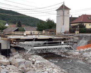 Reconstruction du pont du Geisbourg à Kaysersberg